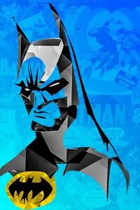 800x1280 Batman Minimalism 2