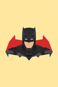 640x960 Batman Minimalism 4k 2020