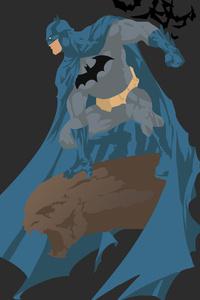 Batman Minimalism 4k