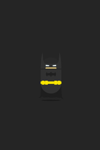 Batman Minimalist Dark 5k