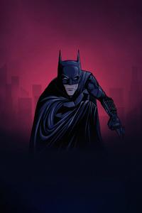 Batman Minimalize 4k