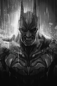 Batman Monochrome Artwork
