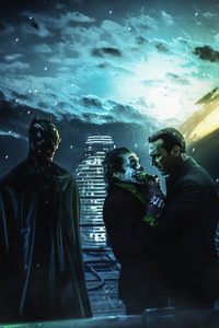 1125x2436 Batman Movie 2020 Scene