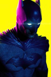 Batman Neon Glow 4k
