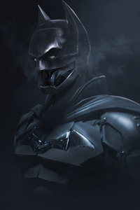 320x568 Batman New Suit 4k