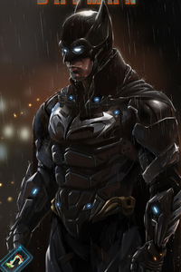 640x1136 Batman New Tech Suit