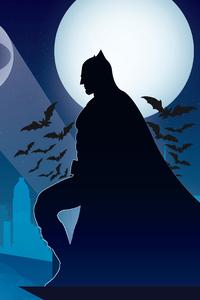 Batman Night Bat Logo