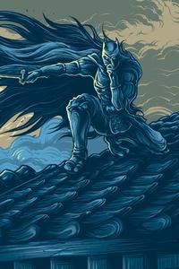 800x1280 Batman Ninja Art