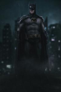 Batman Old Suit Artwork