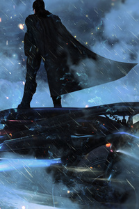 Batman On Batmobile