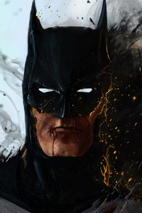 Batman On Fire