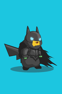 1440x2560 Batman PokeFusion