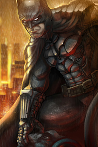 720x1280 Batman Rain