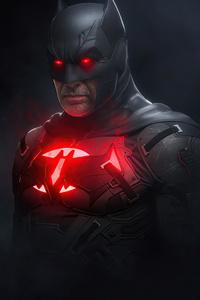 Batman Red 4k 2020 Art