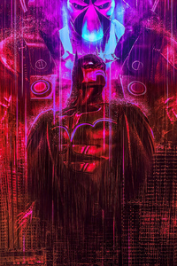 Batman Red Art