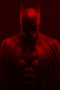 Batman Red Background