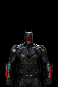 Batman Red Eye 4k