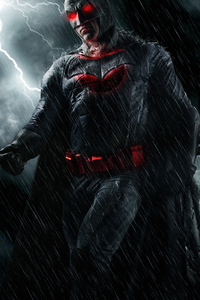 240x320 Batman Red Eye