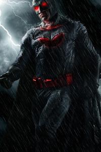 Batman Red Eye