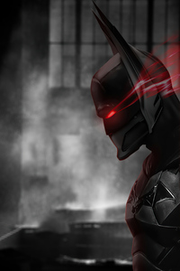 Batman Red Eye Mask