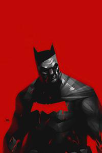 320x480 Batman Red Series Comic Cover 4k