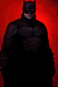 720x1280 Batman Redness 4k