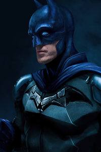 1080x2160 Batman Robert Artwork 4k