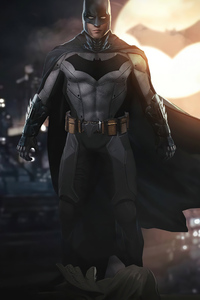 Batman Robert Pattinson Art