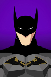 1125x2436 Batman Robert Pattinson Minimal 5k