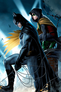 Batman Robin Art