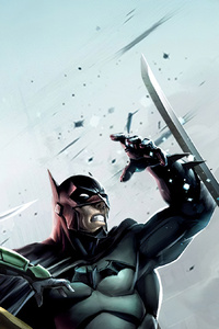 Batman Robin Deathstroke