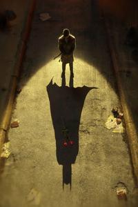 240x320 Batman Shadow Alone