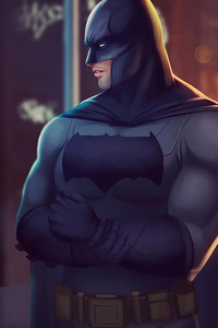 Batman Side Face