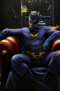 240x400 Batman Sitting