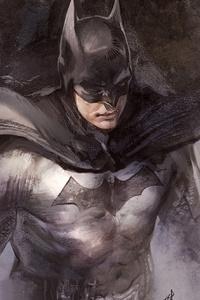 800x1280 Batman Sketch Artwork