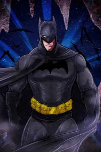 480x800 Batman Sketchyart