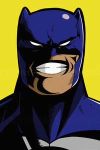 Batman Smiling