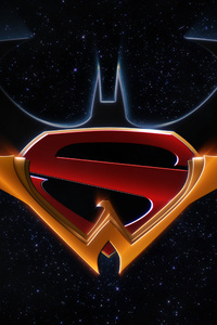 Batman Superman Wonder Woman Trinity Logo