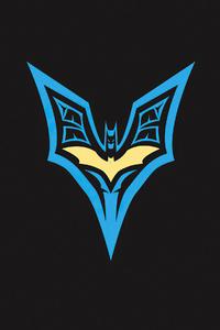 480x854 Batman Symbol 4k