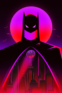 Batman Synthwave