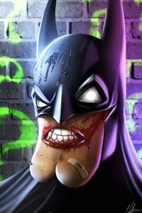 480x800 Batman Teeth