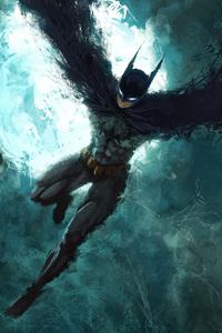 720x1280 Batman The Dark Knight Artwork