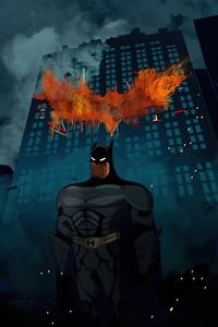 Batman The Dark Knight Minimal 4k