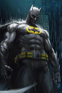 1280x2120 Batman The Detective 4k