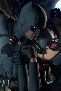 640x1136 Batman The Telltale Series Bruce And Selina