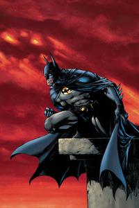 1280x2120 Batman The Watcher 4k