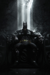 720x1280 Batman Throne 4k