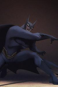 Batman Throwing Bat Signal
