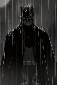 Batman Under The Rain 4k