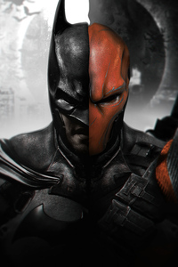 240x320 Batman V Deathstroke 5k